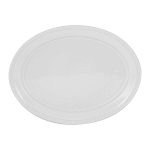 Mason Cash Beaded White Oval Platter 44cm