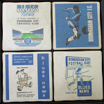 Birmingham City Football Club Vintage Coasters