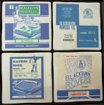 Blackburn Rovers Football Club Vintage Coasters