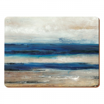 Blue Abstract Ocean View - Creative Tops 4 Large Premium Tablemats