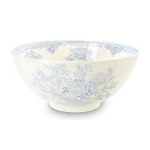 Burleigh Blue Asiatic Pheasants Large Footed Bowl 28cm 11in