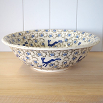 Peregrine Pottery - Blue Hare Serving Bowl