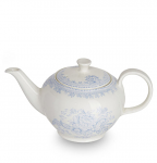 Burleigh Blue Asiatic Pheasants Teapot Small 3-4 cups Gift Boxed