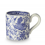 Burleigh Blue Regal Peacock Half Pint Mug 284ml 0.5pt