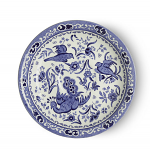Burleigh Blue Regal Peacock Saucer for Teacup