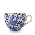 Burleigh Blue Regal Peacock Teacup 187ml  1/3pt