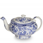 Burleigh Blue Regal Peacock Teapot 5 Cup
