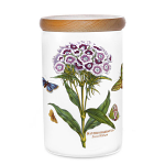 Portmeirion Botanic Garden Airtight Jar 18cm - Sweet William