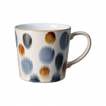 Denby Brown Spot Painted Large Mug