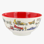 Emma Bridgewater - Builders at Work Melamine Bowl 1BAW010494