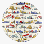 Emma Bridgewater - Builders at Work Melamine Plate 1BAW010493