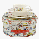 Emma Bridgewater - Builders at Work 3 Piece Melamine Set in Suitcase 1BAW010483