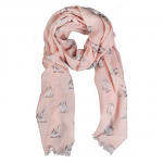 Wrendale Designs Scarf - Some Bunny Scarf