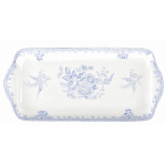 Burleigh Blue Asiatic Pheasants Sandwich Tray