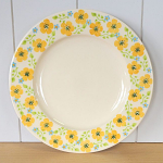 Peregrine Pottery - Buttercup Meadow Lunch Plate 9in
