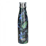 Built Double Walled Stainless Steel Water Bottle 17oz 500ml Dark Tropics