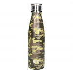 Built Double Walled Stainless Steel Water Bottle 17oz 500ml Camouflage