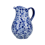 London Pottery Splash Large Jug - Blue