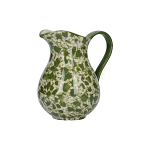 London Pottery Splash Medium Jug - Green