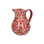 London Pottery Splash Medium Jug - Red