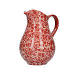 London Pottery Splash Large Jug - Red