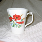 Duchess China Poppies - Beaker