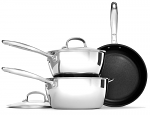 OXO Good Grips Stainless Steel 3 Piece Cookware Set