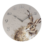 Wrendale Designs - Wall Clock 30cm - Hare