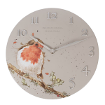 Wrendale Designs - Wall Clock 30cm - Woodland Robin