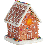 Craycombe Trinket Box - Gingerbread House