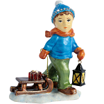 Craycombe Trinket Box - Little Boy & Sleigh