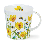 Dunoon Cairngorm Shape Mug - Busy Bees Buttercup - Boxed