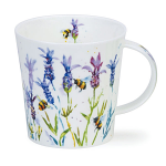 Dunoon Cairngorm Shape Mug - Busy Bees Lavender - Boxed