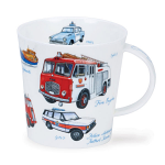 Dunoon Cairngorm Shape Mug - Emergency Services - Boxed