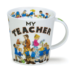 Dunoon My Teacher Cairngorm Shape Mug Boxed
