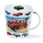 Dunoon Cairngorm Shape Mug - Vintage Collection Cars - Boxed