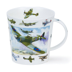 Dunoon Cairngorm Shape Mug - Vintage Collection Planes Aeroplanes - Boxed