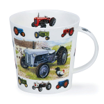 Dunoon Cairngorm Shape Mug - Vintage Collection Planes Tractors - Boxed