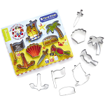 Cooksmart Kids Captain Flapjack 8 Piece Cutter Set