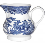 Churchill China Blue Willow Cream Jug (Georgian) 230ml