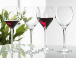 Galway Crystal Clarity Red Wine Set of 4