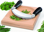 Cole & Mason Hachoir and Board Gift Set - Beech and Stainless Steel