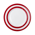 Cornishware - Cornish Red - Lunch Plate 245mm