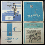Coventry City Football Club Vintage Coasters