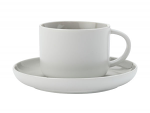 Maxwell & Williams Tint Tea Cup & Saucer 250ml Grey