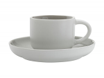 Maxwell & Williams Tint Demi Cup & Saucer 100ml Grey