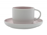 Maxwell & Williams Tint Tea Cup & Saucer 250ml Rose