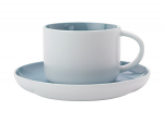 Maxwell & Williams Tint Tea Cup & Saucer 250ml Cloud