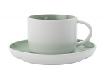 Maxwell & Williams Tint Tea Cup & Saucer 250ml Mint