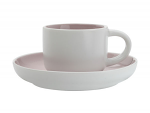 Maxwell & Williams Tint Demi Cup & Saucer 100ml Rose